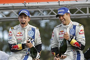 WRC Race report Perfect performance: Volkswagen driver Sébastien Ogier wins in Australia