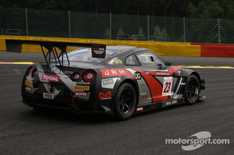 JRM Racing et for Blancpain Series finale