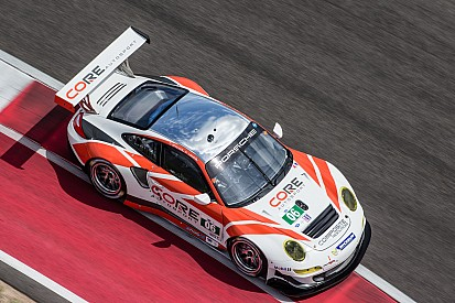 Third-place PC finish for CORE at COTA follows major GT Porsche announcement