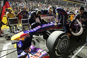 Formula 1 Race report Vettel wins in Singapore with a two-stop strategy