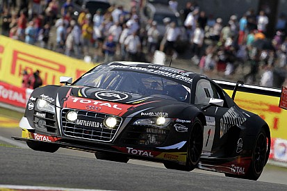 The Belgian Audi Club and Team WRT not retained the Blancpain titles at the Nürburgring