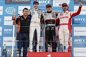 WTCC Race report Honda win Suzuka Race 1 with Michelisz