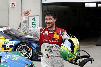 Audi driver Rockenfeller reaches for title at Zandvoort