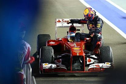 Furious Webber slams 'comical' taxi-ride penalty