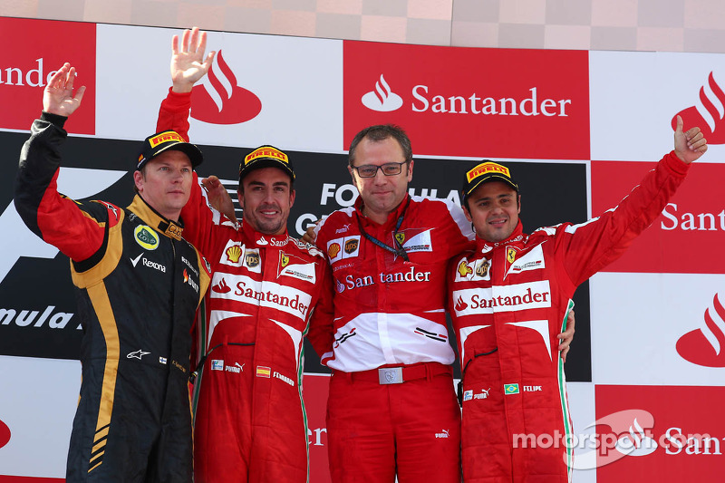 Formula One trio back Ferrari's 'fire and ice' 2014 lineup