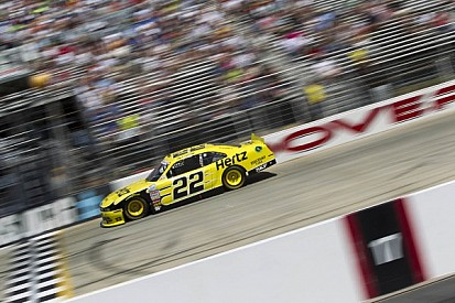Fourth and 11 for Logano