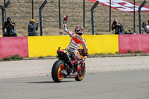MotoGP Race report Marquez seizes sixth victory of the year at Aragon