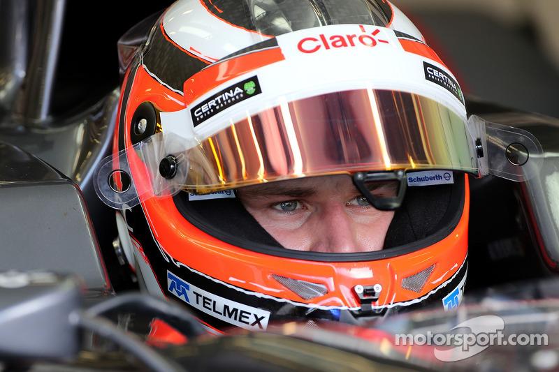 Report - Hulkenberg too heavy for 2014 McLaren
