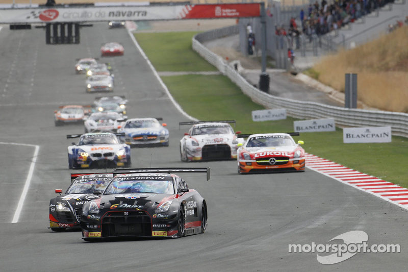 Nissan's class of 2012 steals the show at Navarra