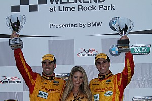 Grand-Am Race report Freedom Autosport closes season with a win for Nunez, Miller at Lime Rock