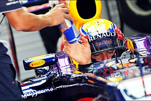 Formula 1 Qualifying report Pole position for Infiniti Red Bull Racing by Vettel at Korea