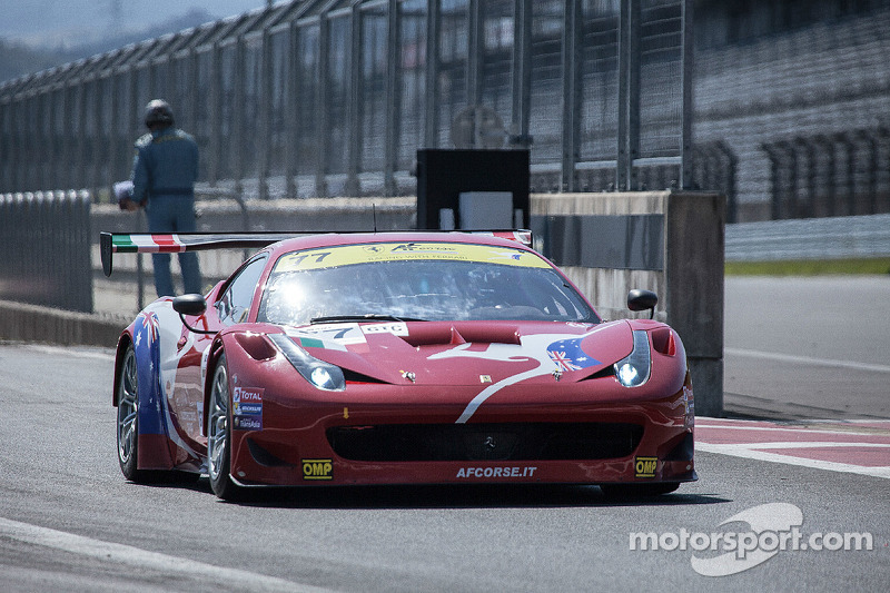 3 Hours of Zhuhai: AF Corse were the top GTC team in both of today's FP sessions
