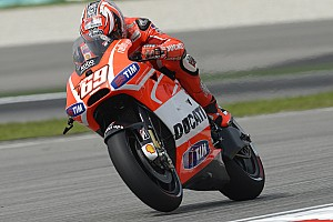 MotoGP Practice report Hayden and Dovizioso eighth and ninth on day one at Sepang