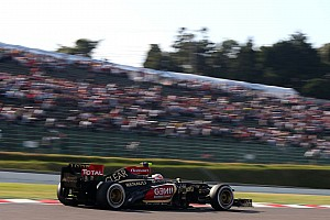Formula 1 Qualifying report Both Lotus in top-10 for tomorrow's race at Suzuka