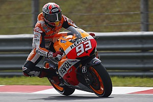 MotoGP Race report Bridgestone: Marquez smashes lap record in Malaysian
