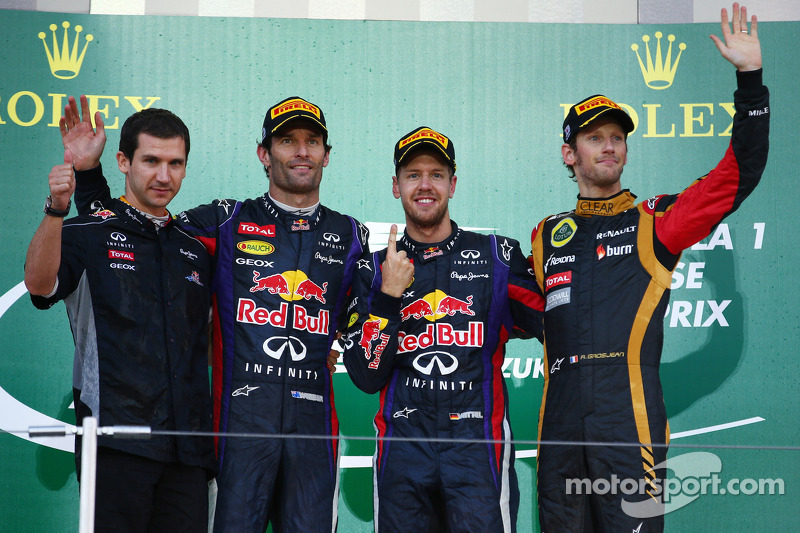 Magic number is '5' for Vettel