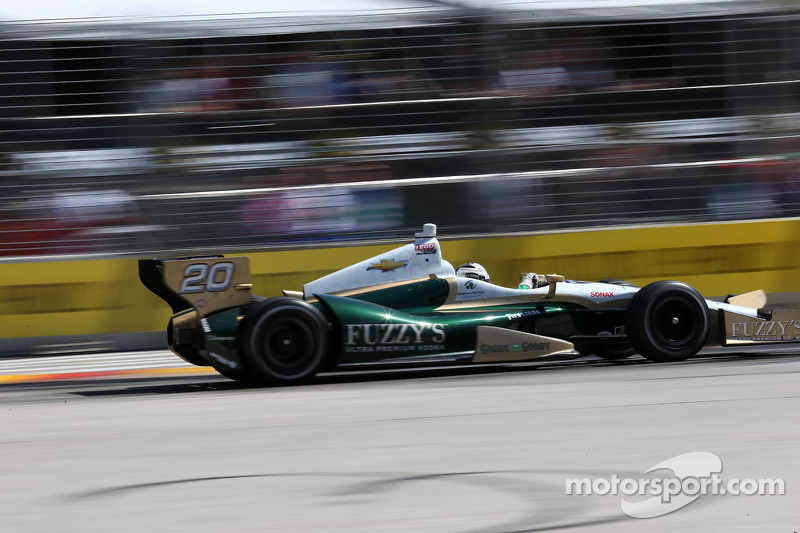 Ed Carpenter set to defend MAVTV 500 race title in Fontana