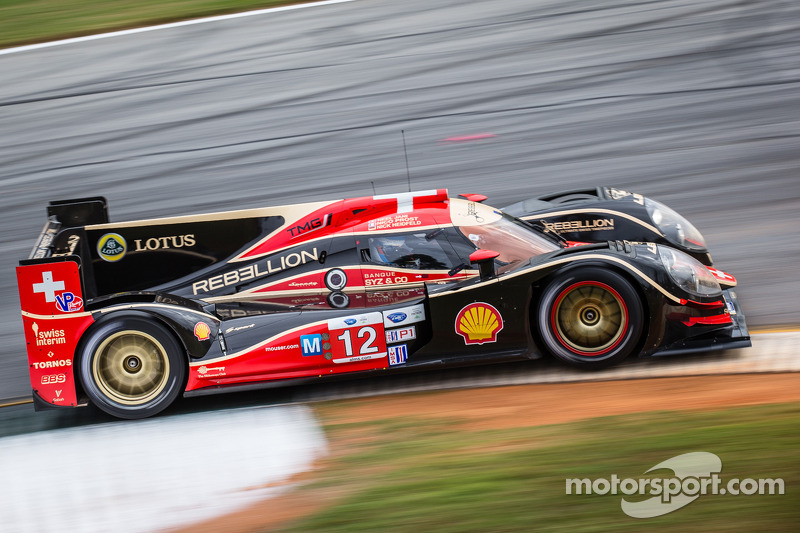Prost fastest for Rebellion Racing in final Petit Le Mans test
