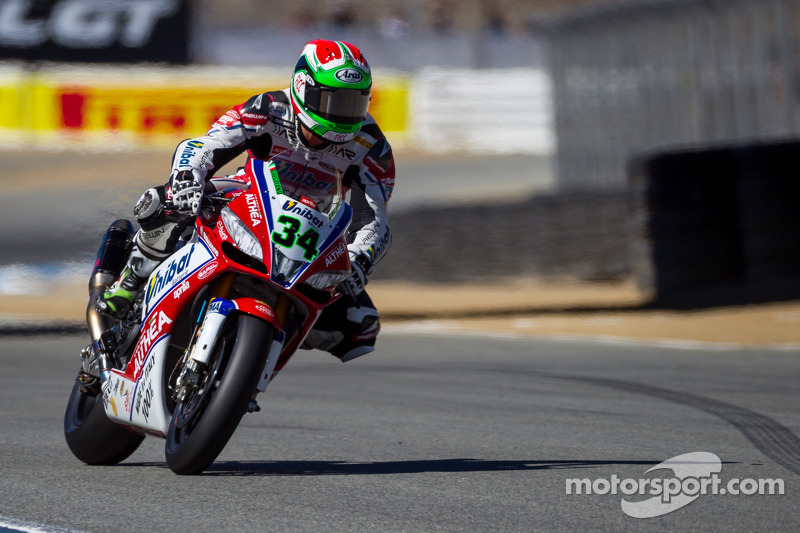 Giugliano leads Jerez Friday qualifying over Melandri and Laverty