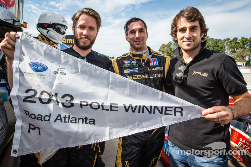 Rebellion's Jani outmuscles Luhr for Petit Le Mans pole