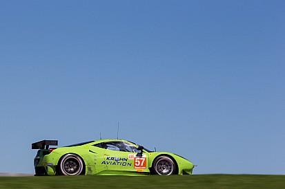 Krohn Racing had extensive program on practice day in Fuji