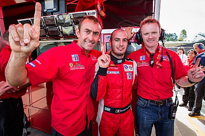 Malucelli charges to GT pole in Risi Ferrari for Petit Le Mans