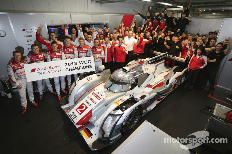 Audi claim world championship title in shortened 6 Hours of Fuji