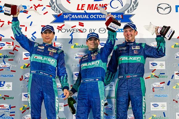 ALMS Team Falken Tire wins final ALMS Petit Le Mans
