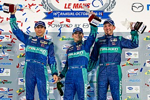 ALMS Race report Team Falken Tire wins final ALMS Petit Le Mans