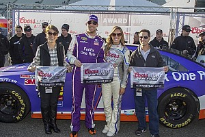 NASCAR Cup Analysis Despite back problems, Denny Hamlin has become a qualifying ace