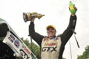 NHRA Breaking news John Force claims 16th title