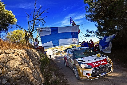 Hirvonen claims podium spot in Spain