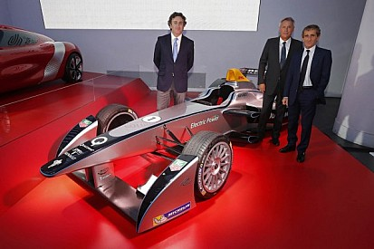 Alain Prost teams up with Jean-Paul Driot for FIA Formula E Championship
