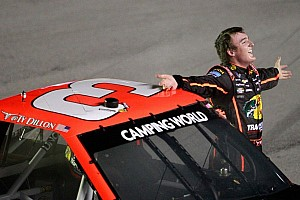 NASCAR Truck Breaking news Ty Dillon wins in Texas