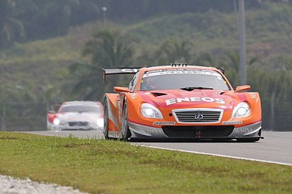 Eneos Sustina SC430 wins its first pole position of the season at the Twin Ring Motegi