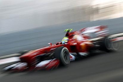 Abu Dhabi GP - Fourth row for Massa, sixth for Alonso