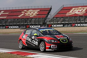 WTCC Race report Muennich Motorsport almost on the podium in Shanghai