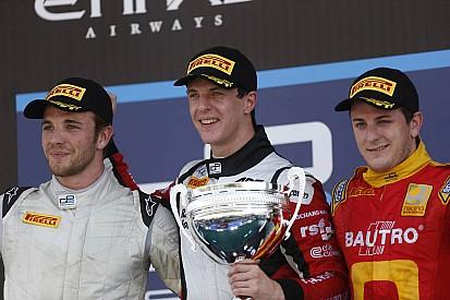 MP Motorsport ends debut season back on podium in Abu Dhabi