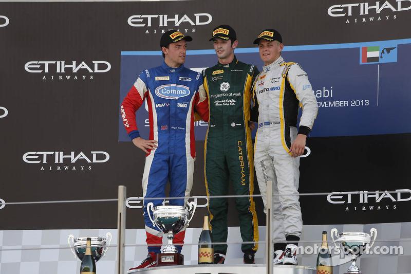 Podium for Palmer in final 2013 series weekend at Abu Dhabi