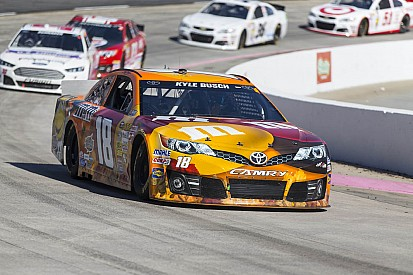 Kyle Busch feeling at home in the desert