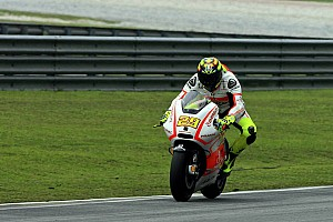 MotoGP Qualifying report Fourth row for Iannone and Pramac Racing Team at Valencia