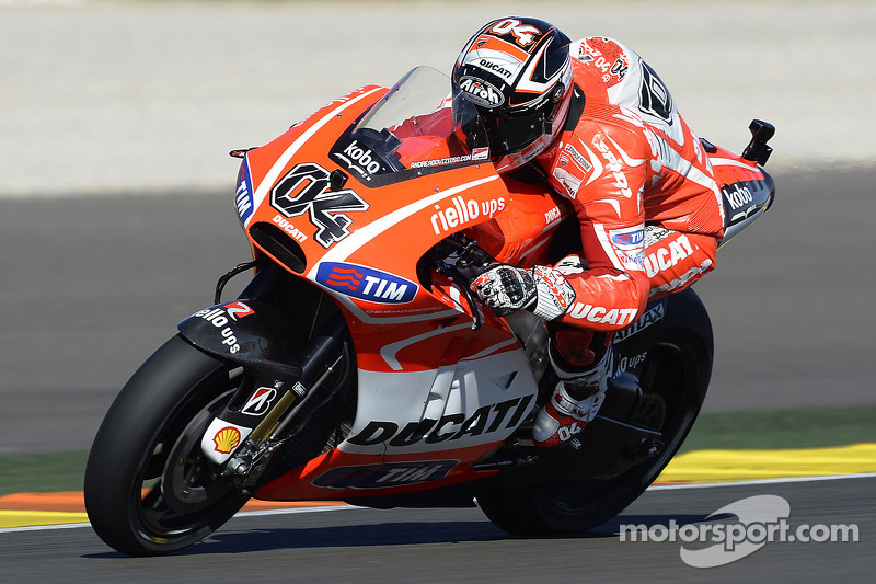 Testing continues for Ducati Team at Valencia