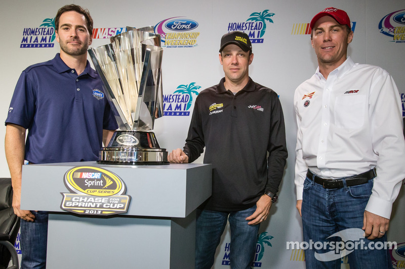 NASCAR's championship contenders address weekend ahead