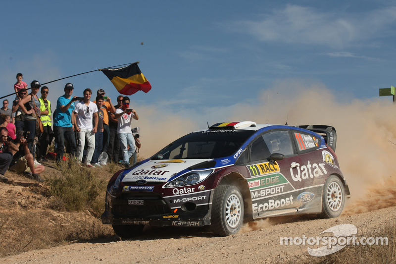 Neuville and Evans on the pace in Wales