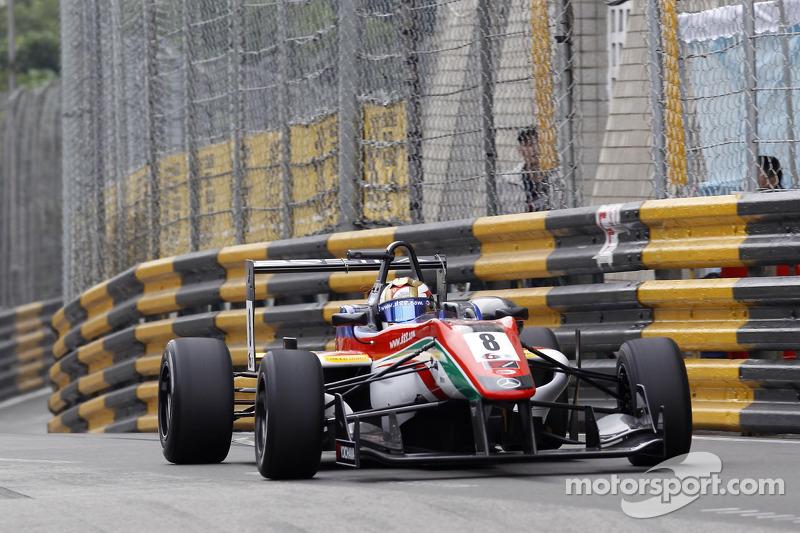 Marciello claims pole for Macau Grand Prix Saturday race