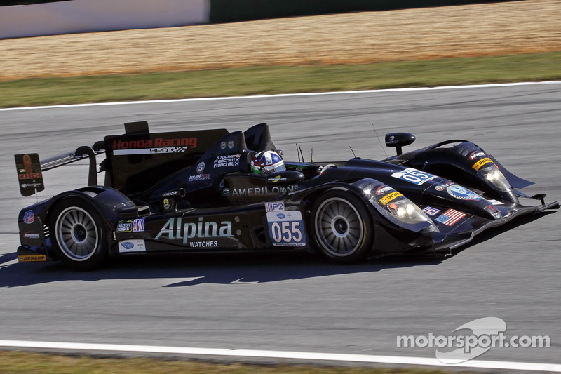Scott Tucker and Level 5 Motorsports salute Dario Franchitti, a teammate and friend