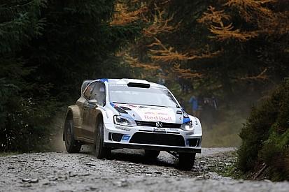 Ogier ahead of Latvala – Volkswagen one-two in Wales