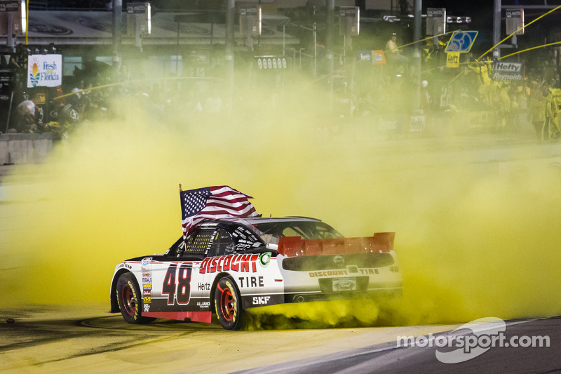 Keselowski cops Homestead race victory as Dillon takes championship