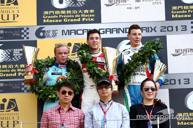 Victory for Lynn and Prema at Macau