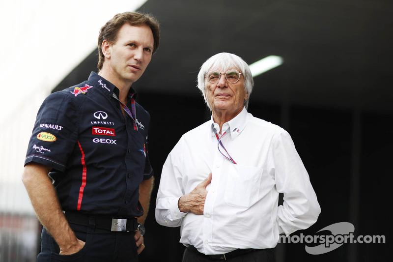 Ecclestone names Horner as 'ideal' successor